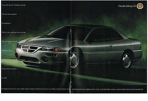 PUBLICITE-ADVERTISING-1995-CHRYSLER-SEBRING-LXI-2-pages