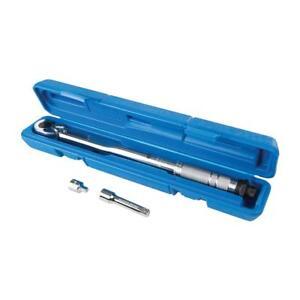 """Clé dynamométrique avec carré 3/8"""" - serrage 8 à 105 Nm ISO 6789 et DIN 3121"""