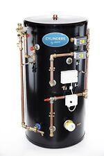 Stainless Steel System Easy Fit Pre Plumbed Unvented Hot Water Cylinder