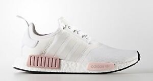 71ce10b82 Adidas NMD R1 Runner Mesh BY9952 Icy Pink White Rose Women s 5.5-10 ...