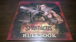 Board-Game-Spartacus-RULE-BOOK-Starz-Gale-Force-Nine