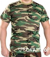 Genuine Russian Army Issue Military Camouflage T-shirt - Flora Флора Зеленый Кмф