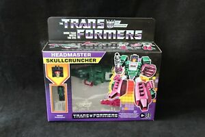 Transformers Hasbro Walmart Retro Headmaster Skullcruncher New MISB