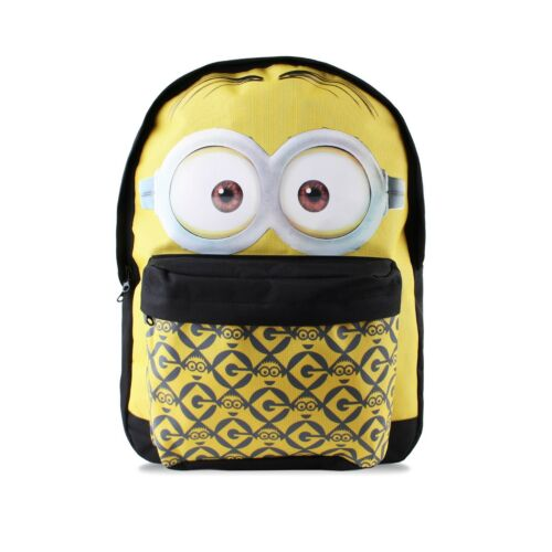 Kids Boys Girls School Backpacks Rucksacks Minions Star Wars Marvel Simpsons