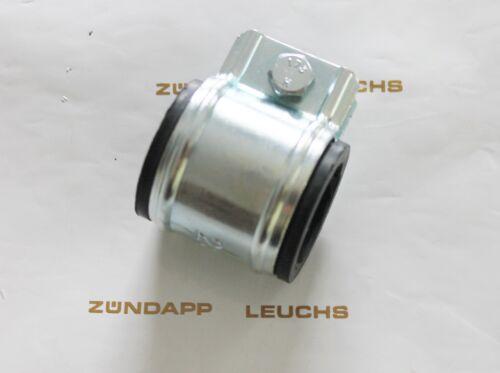 30mm Muffe mit Schelle ZA 25 40 Typ 460 Zündapp Auspuffgummi Weich 28