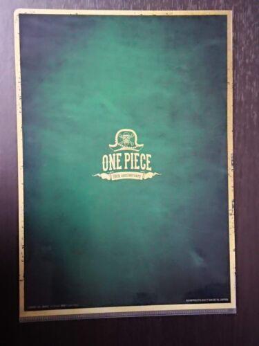 One Piece Bartolomeo 20th anniversary A4 Clear File Folder Anime Manga