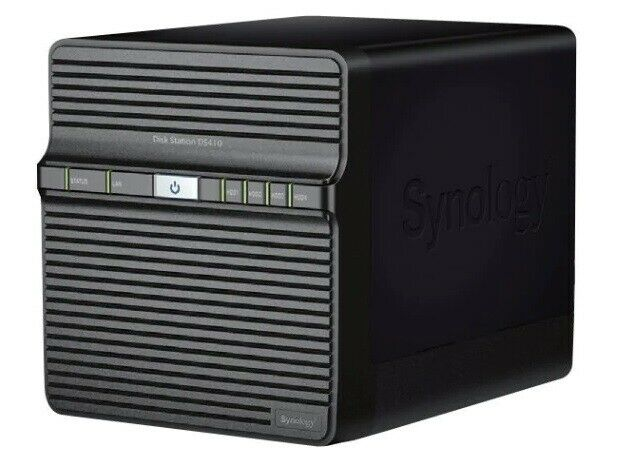 NAS, Synology DS410, 4TB