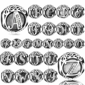 26-Letters-European-Silver-Pattern-Spacer-Charm-Beads-Fit-Necklace-Bracelet-2018