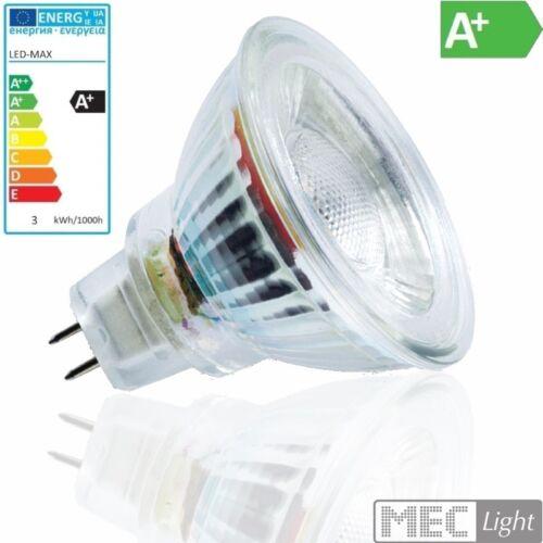 273Lm 4500K MR16//GU5.3 LED Strahler//Spot 36° 12V neutral-weiß 3W