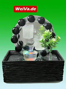 WeiVa-Feng-Shui-Keramik-Glas-Zimmerbrunnen-mit-LED-Beleuchtung-514-rund