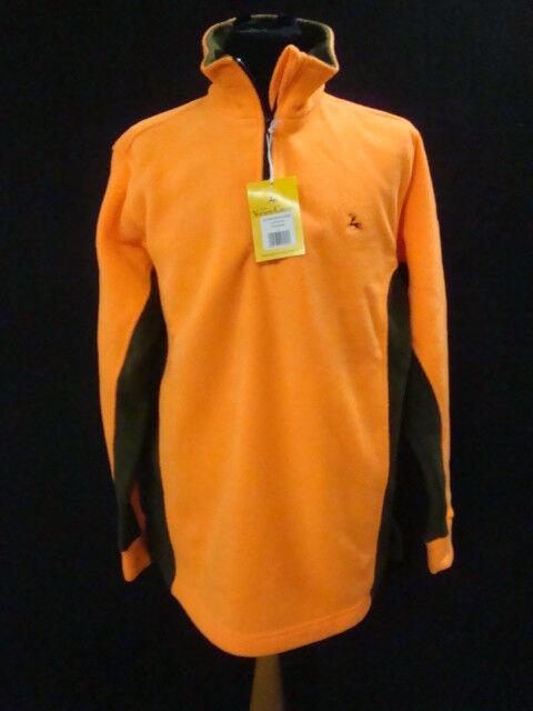 orange Fleece Polar Verney-Carron Ligne Or Mens Green