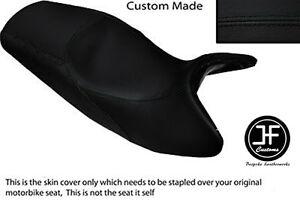 BLACK AUTOMOTIVE VINYL CUSTOM FITS HONDA SES 125 DYLAN DUAL SEAT COVER ONLY