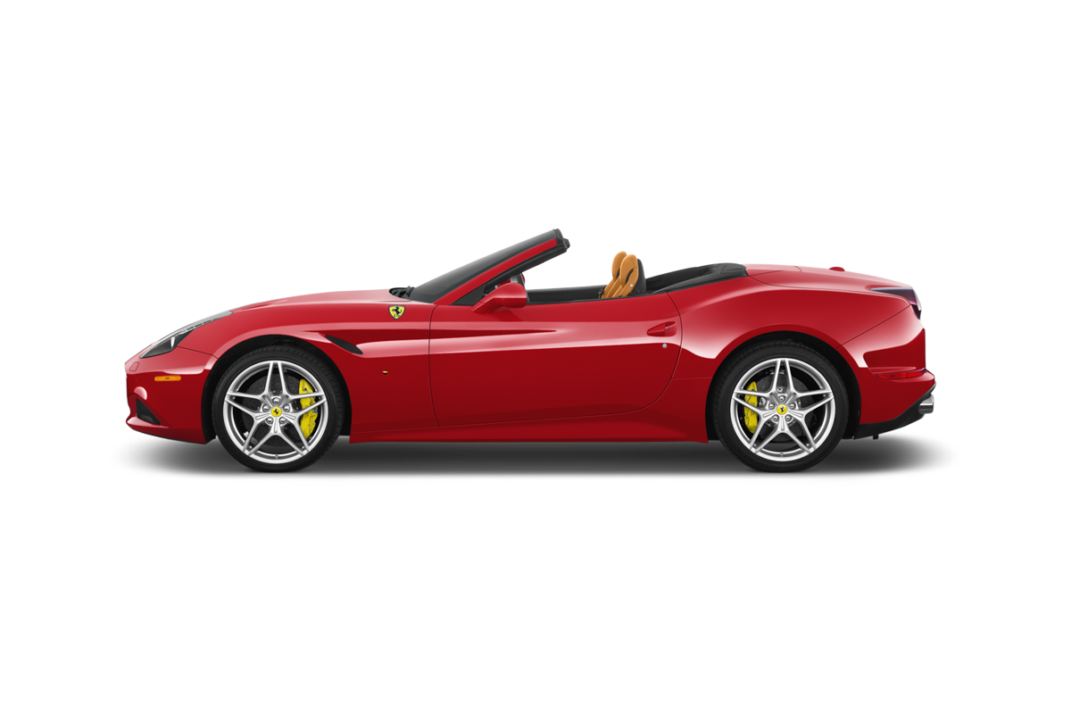 Ferrari California side view