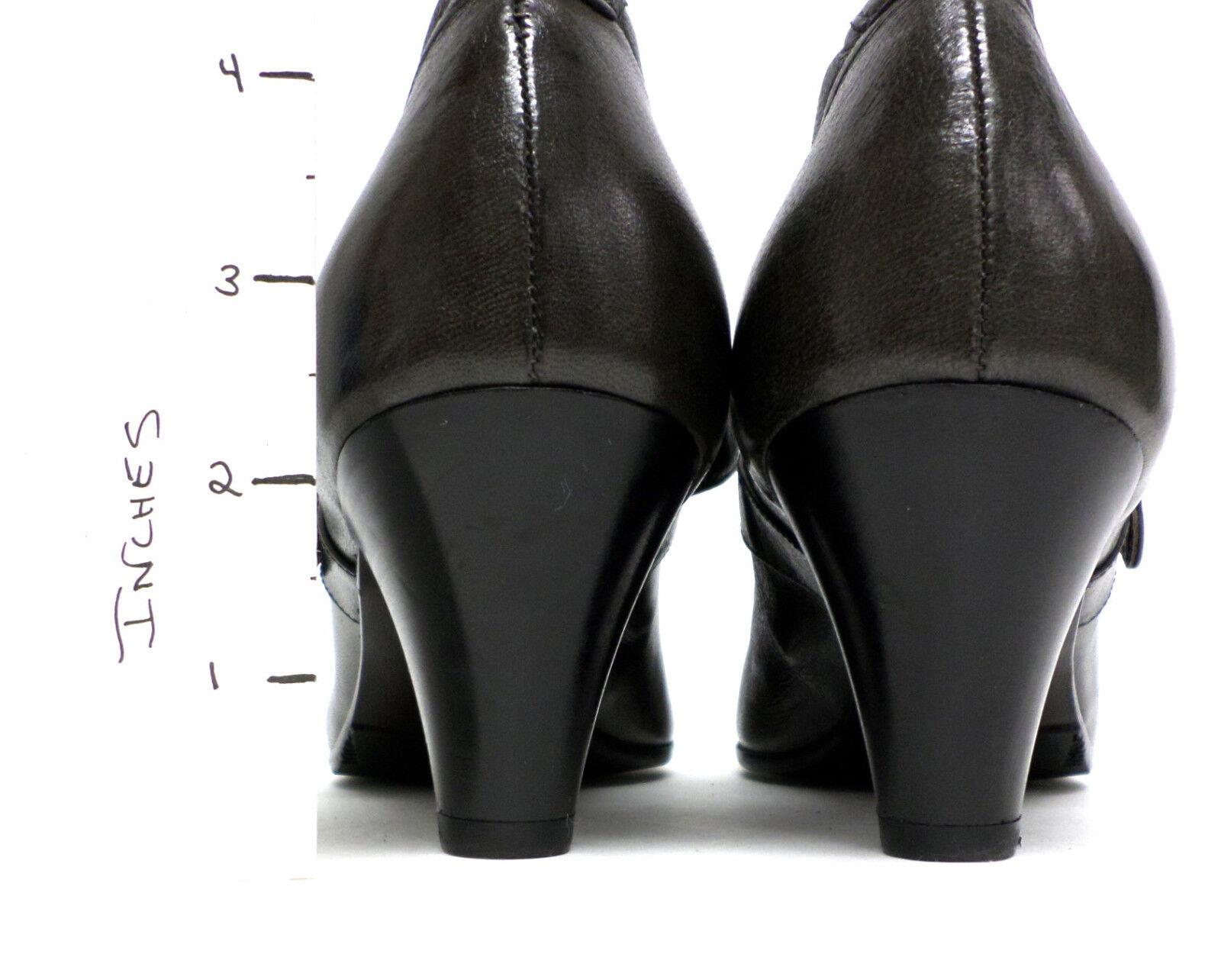New Heel ALBERTO FERMANI Olive Green Größe 9 Mary Jane Heel New Pumps or Schuhes 40 6e15af