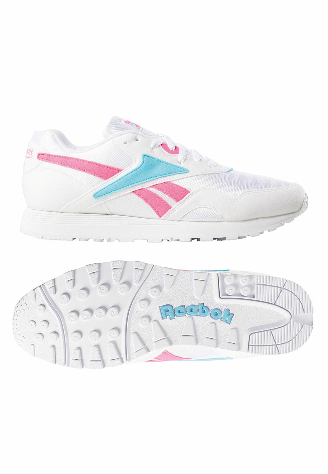 Reebok Sneaker RAPIDE MU DV3808 Mehrfarbig Wht Solar Pink Neon bluee