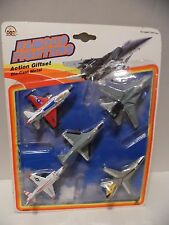 Lot of 5 Die-Cast Airplanes Famous Fighters New Action Giftset Set A * Sealed