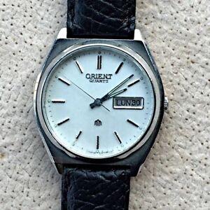 4838a4042795 La imagen se está cargando Orient-quartz-reloj-vintage-watch-35mm-funciona -working