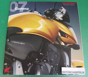 HONDA-MOTO-CATALOGO-SPORT-CUSTOM-ENDURO-MOTORCYCLE-PUBBLICITA-BROCHURE-CATALOG