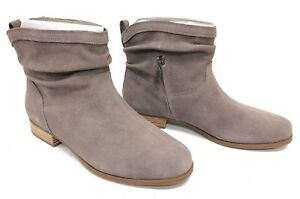1f556849f57 Details about Koolaburra Lorelei Cinder Boots Suede Suede Slouch Booties  1096439 Women's