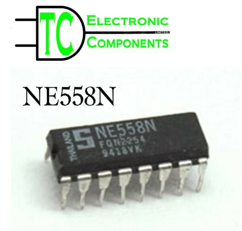 NE558N NE558D Quad Timers available in DIP or SOL Packages *UK Seller Free P/&P*