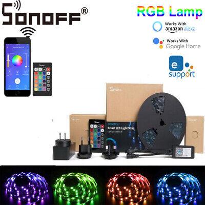 Sonoff L1 Smart WIFI LED Light RGB Waterproof Strip Lamp Kit For Google Alexa X