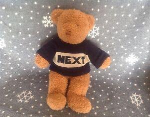 NEXT-BROWN-EDWARD-TEDDY-BEAR-SOFT-PLUSH-COMFORTER-TOY-15-034-TALL
