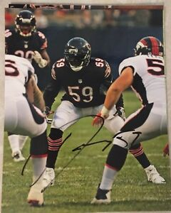 Danny Trevathan Autographed Bears 8x10 Photo With Coa