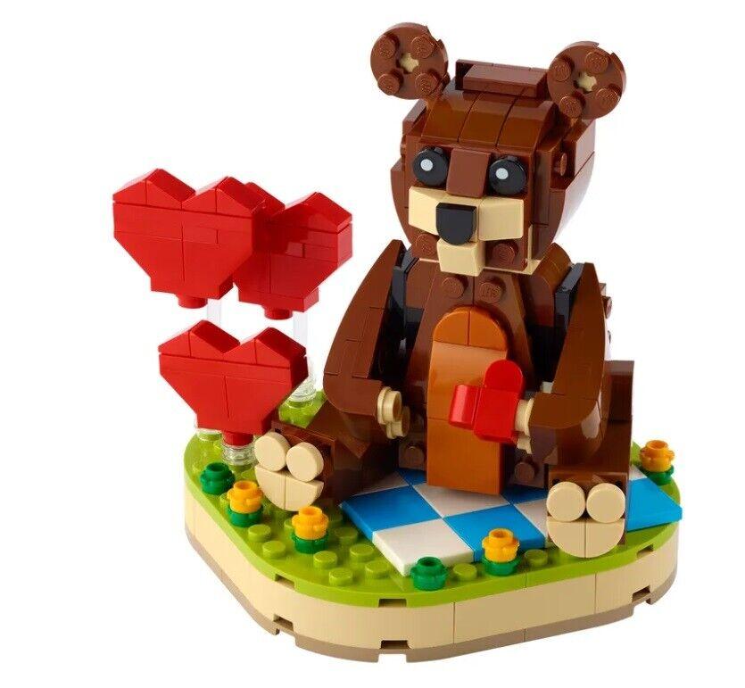 Lego Exclusives, 40462, Valentinsbjørn