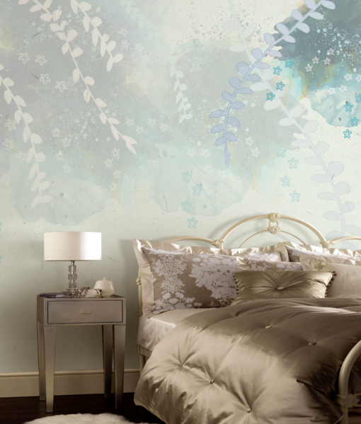 3D Foliage Paint 554 Wallpaper Murals Wall Print Wallpaper Mural AJ WALL UK Kyra