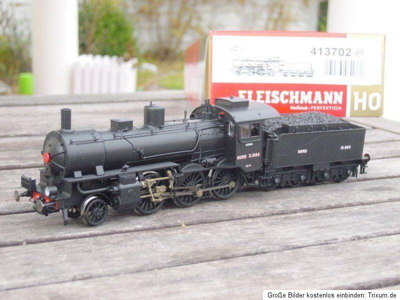 Fleischmann 413702 Steam Locomotive 3.15 (Ex P 6   Br 37) Französ.nordbahn