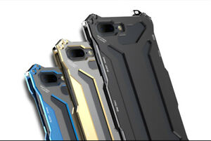 Aluminum-Steel-Metal-Shockproof-Bumper-Cover-Case-For-iPhone-X-7-8-Samsung-S9