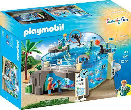 negozio fa acquisti e vendite Playmobil Playmobil Playmobil 9060 Family divertimento Aquarium with Fillable Water Enclosure  compra meglio
