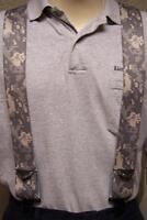 "Suspenders 2""x48"" FULLY Elastic Digital Urban Camouflage NEW"