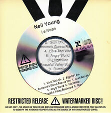 NEIL YOUNG Le Noise UK numbered/watermarked promo test CD