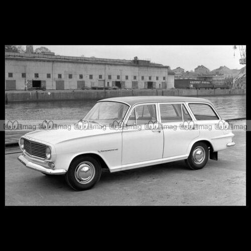 #pha.023674 Photo VAUXHALL VICTOR SUPER ESTATE FB 1961-1964 Car Auto