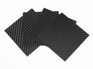 Pellicola 4D in fibra di carbonio adesivo wrapping per tuning auto e nautica 4pz