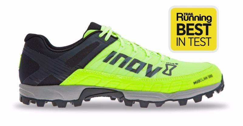 Inov 8 Mudclaw 300 Trail Running Shoe Yellow/Black