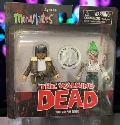 Walking Dead Minimates TRU Toys R Us Wave 7 Ezekiel /& Mauled Zombie