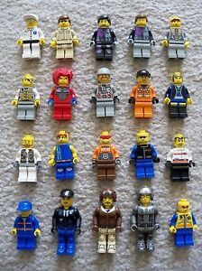LEGO-Rare-Various-Minifigs-Lot-of-20-Minifigs