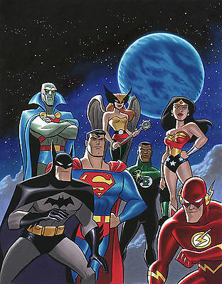JUSTICE LEAGUE POSTER DD7 PRINT A4 A3 SIZE BUY 2 GET ANY 2 FREE