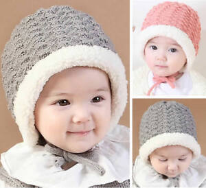 Newborn Infant Baby Girl Boy Kids Toddler Knitted Hat Cap Beanie ... 5b70cb74a758