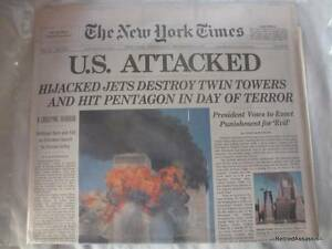 Vacuum-Sealed-2001-New-York-Times-9-11-01-Newspaper-NY-12-September-Late-Edition
