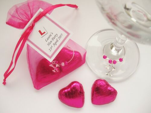 Gift Personalised Hen Party Chocolates /& Charm Hen Night Favour
