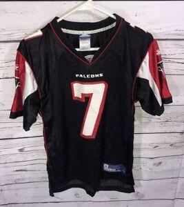 43f5227d6 Image is loading Reebok-Michael-Vick-Atlanta-Falcons-Jersey-Youth-Large-
