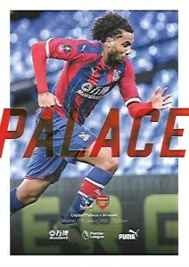 Crystal-Palace-v-Arsenal-11th-January-2020-Match-Programme-2019-2020