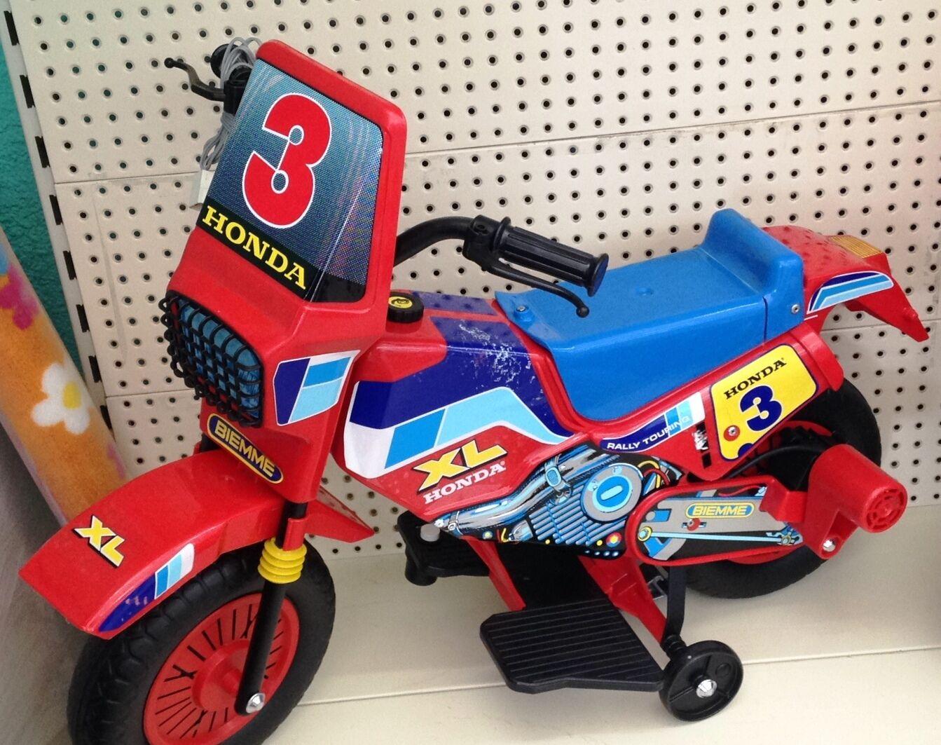 BIEMME moto motor motos con batería HONDA 750 XL vintage anni '80