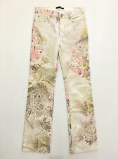 ROBERTO CAVALLI Pantaloni Jeans Donna Cotone Woman Denim Pant Sz.S - 42