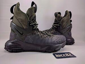 Nike Zoom Tallac Flyknit ACG 865947-002 Black Cargo Khaki Sz UK 7 EU 41 US 8 New