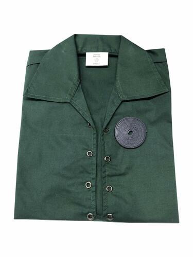 Mens Green Scottish Kilt Ghillie Shirt