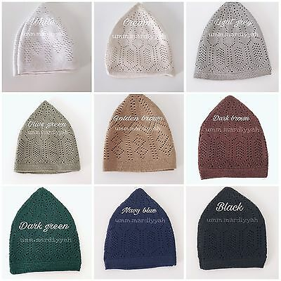 Turkish knitted hat islamic boys and mens mosque hat mercan hat